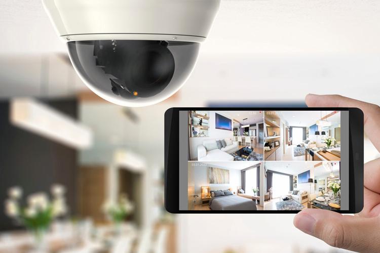Videosorveglianza dom + smartphon