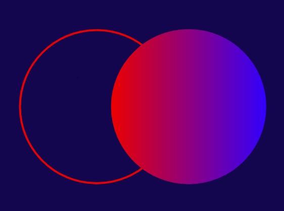 Disegno cerchi colorati