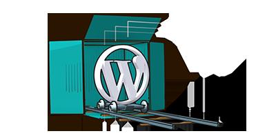 icona scatola wordpress